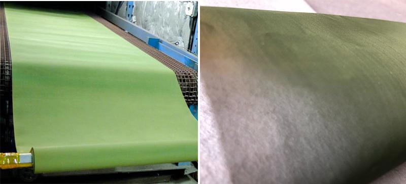 Stainless steel teflon coat mesh